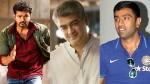 Ravichandran Ashwin S Reaction About Vijay Ajith Fans Fight
