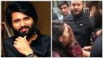 Vijay Deverakonda Meet Lady Fan And His Reaction Going Vira