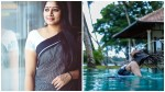 Anumol Pool Photoshoot
