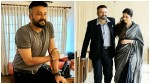 Jayaram Shares Photo With Tabu