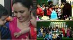 Nisha Sarang With Ryan And Parukutty Video Viral