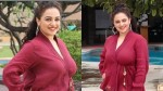 Nithya Menon At Juhu For Mission Mangal Promotions