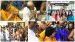 Superstar Rajinikanth And Trisha At Athi Varadar Temple
