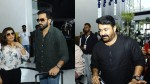 Mohanlal Prithviraj And Other More Stars Arrived Qatar For Siima Awards