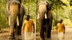 Jayasurya Shared Thrissur Pooram Location Picture