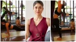 Taimur Watching Mum Kareena Kapoor Do Yoga