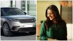 Actress Manju Warrier Bought Range Rover Velar Car
