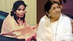 Lata Mangeshkar Says About Ranu Mondal