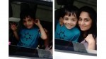 Actress Shalini S Latest Photo With Son
