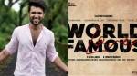 Vijay Devarakonda S World Famous Lover Movie Officially Announced