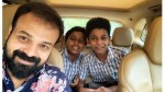 Kunchacko Boban S Picture With Two Boys