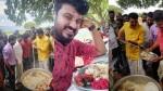 Mammootty Serves Biriyani In Shylock Sets Pics And Video Viral