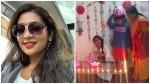 Navya Nair S Birthday Celebration