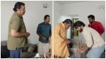 ഈ വിളക്ക് ഞാനിങ്ങെടുക്കുവാ.... സുരേഷ് ഗോപിയോട് ജോണി ആന്റണി, രസകരമായ വീഡിയോ പുറത്ത്