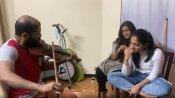 'നിങ്ങളൊരു മാന്ത്രികനാണ്'; അഹാനയ്ക്കായി തെരുവുകള് നീ വയലിനില് വായിച്ച് ഗോവിന്ദ് വസന്ത