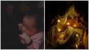 നിലാ ബേബിയുടെ ഉറക്കം, ശ്രീനിയെ ചലഞ്ച് ചെയ്ത് പേളി, വൈറല് വീഡിയോ