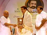 Kerala honours Kamal Hassan on Onam