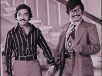 Kamal Hassan and Rajinikanth