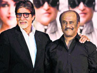 Amitab and Rajanikanth