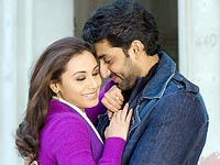 Rani Mukherjee and Abhishek Bachchan