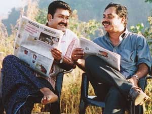 Mohanlal and Anthikkad
