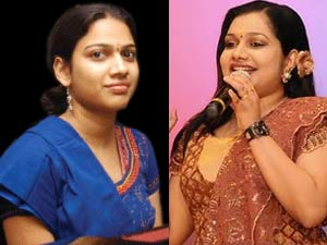Gayathri and Rimi Tomy