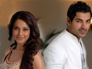 Bipasha and John Abraham,