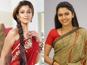 Nayantara and Dhanya Mary
