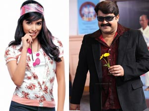 Asin and Mohanlal