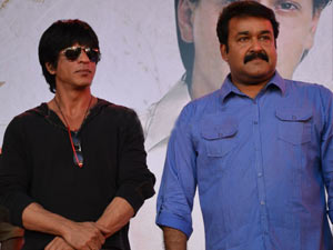 Sharukh and Mohanlal