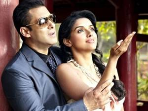 Salman With Asin