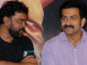 Santosh Sivan and Prithviraj
