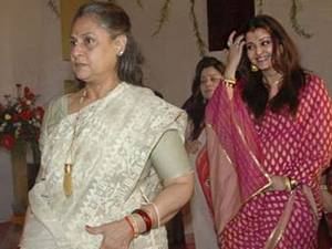 Jaya and Aishwarya