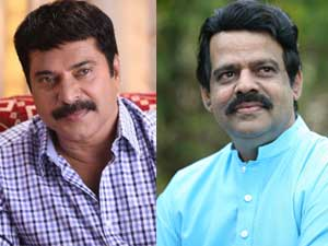 Mammootty and Balachandra Menon