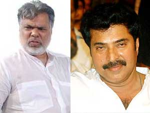 Joshy and Mammootty