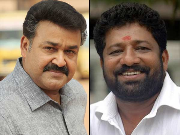 Mohanlal and VM Vinu