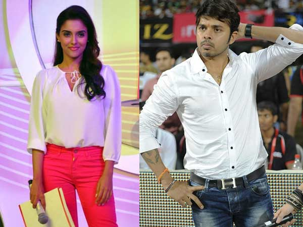 Asin and Sreesanth