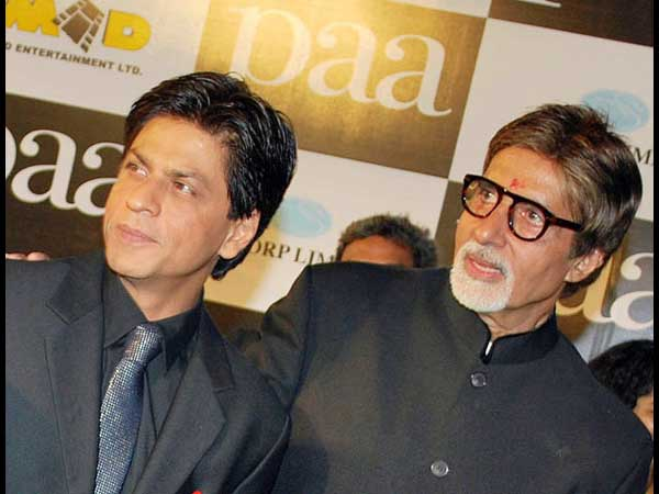 Sharukh Khan and Amitabh Bachchan