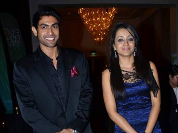 Trisha and Rana