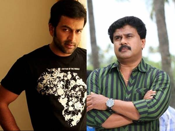 Prithviraj and Dileep