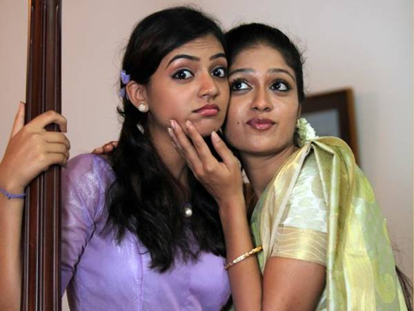 Nazriya Nazim and Meghna Raj