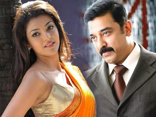 Kajal accepts kiss scene with Kamal