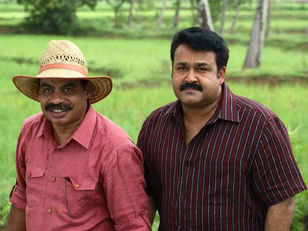 Mohanlal and Sathyan Anthikkad