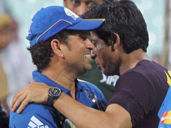 Shah Rukh Khan and Sachin