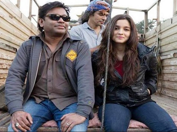 AR Rahman and Aliya