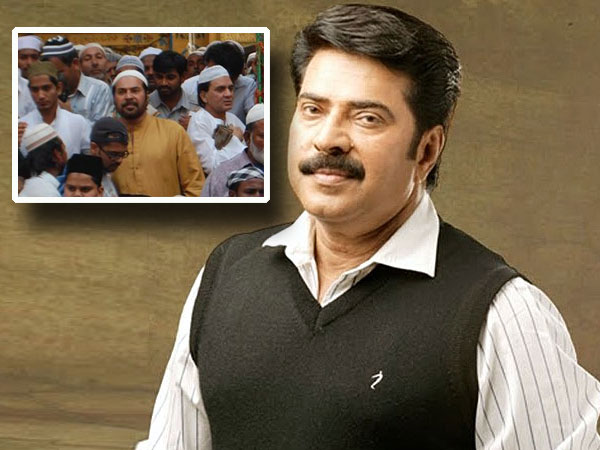 Mammootty shooting in Ajmer