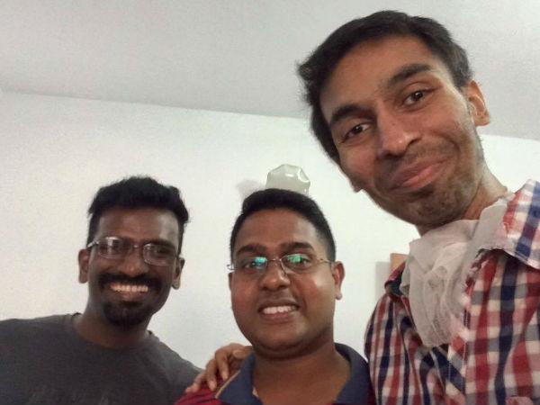 ... Actor Jishnu Raghavan's latest Photo on facebook - Malayalam Filmibeat