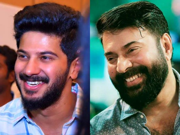 mammootty and dulquer
