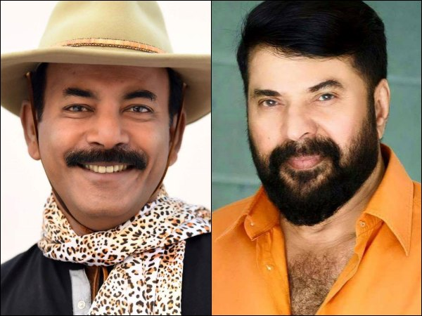 Major Ravi and Mammootty
