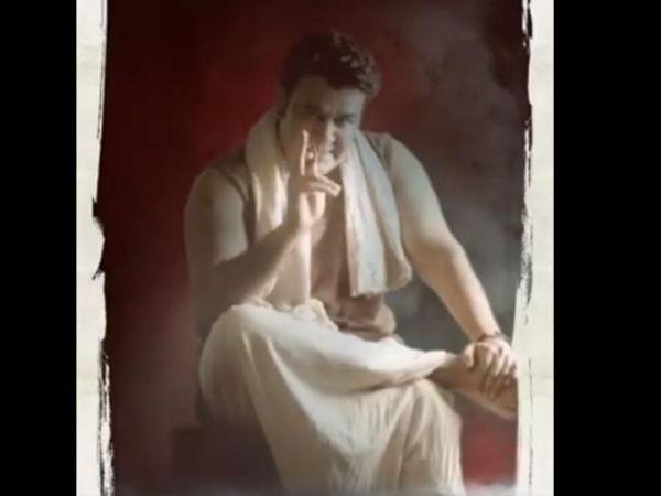 'ഒടിയന് മാണിക്യന് ഒരുങ്ങിക്കഴിഞ്ഞു, ഇനിയാണ് കളി'! പ്രായത്തെ തോല്പിച്ച് മോഹന്ലാല് എത്തി!